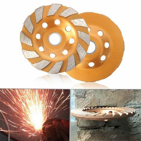 Piedra de granito de hormigón industrial de disco de rueda de corte de hormigón de pulido de diamante de 100 mm