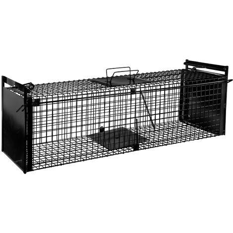 Piège à animal - 1000 x 280 x 280 mm - Porte double