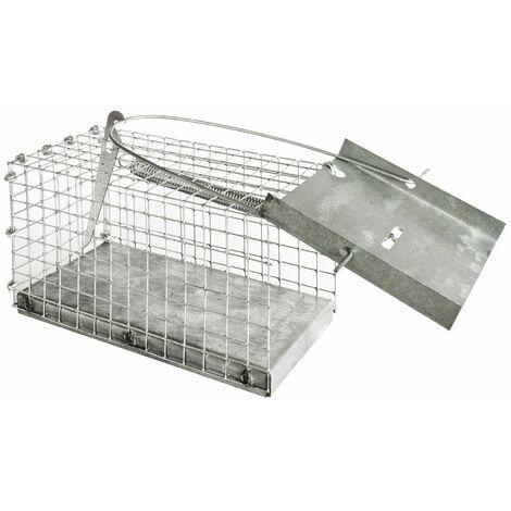 Piège à Animaux Humaine Souris Rats Animal Vivant Cage 15 x 8 x 8 cm petots rongeurs Petigi