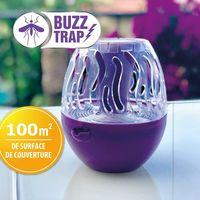 Piège à insectes solaire et nomade Buzz Trap - Violet
