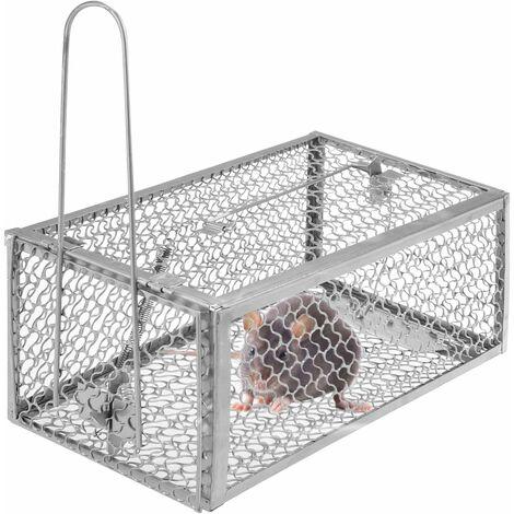 Piège à Souris, Humain Pièges à Rat Cage, Piège de Capture Cage Piege pour Souris Rongeurs Mulots pour Intérieur et Extérieur