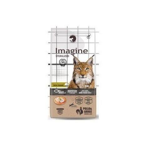 Pienso IMAGINE CAT STERILIZED POLLO & ARROZ para gatos esterilizados