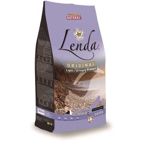 Pienso LENDA ORIGINAL LIGHT/URINARY PROTECT comida para gatos esterilizados - 2kg