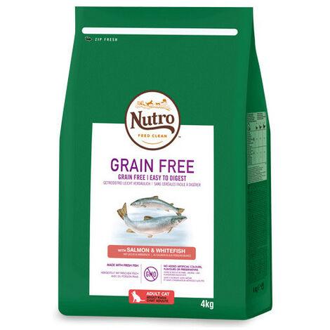 Pienso Nutro Grain Free Adulto Salmón 1,4 Kg