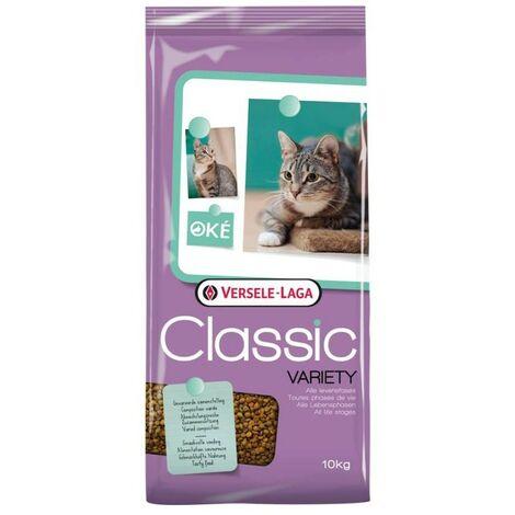 Pienso para gatos 10 kgs | Alimento seco para gatos | Comida para gatos Oké 10 kgs