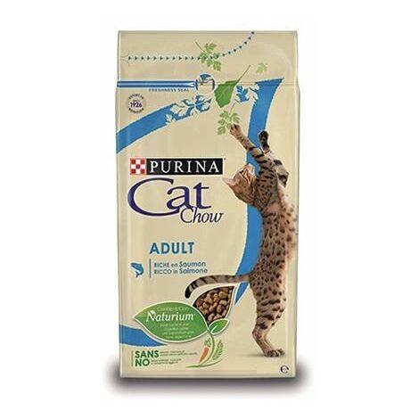 Pienso PURINA CAT CHOW SALMON & ATUN para gatos
