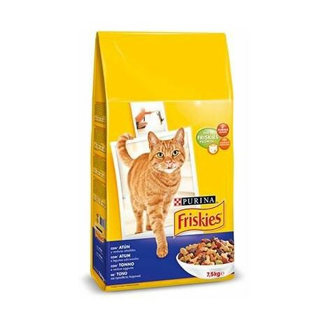 Pienso PURINA FRISKIES ATUN&VERDURAS para gatos