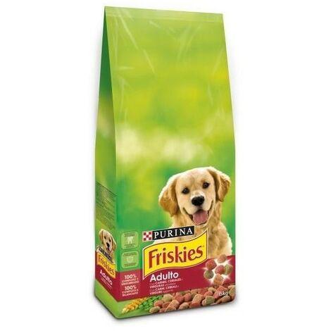 Pienso PURINA FRISKIES BUEY&CEREALES&VERDURAS para perros adultos