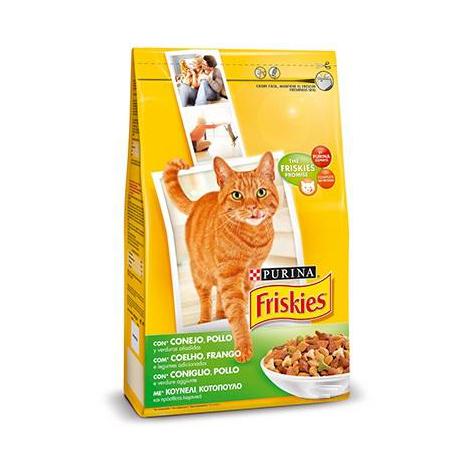 Pienso PURINA FRISKIES CONEJO&POLLO&VERDURAS para gatos