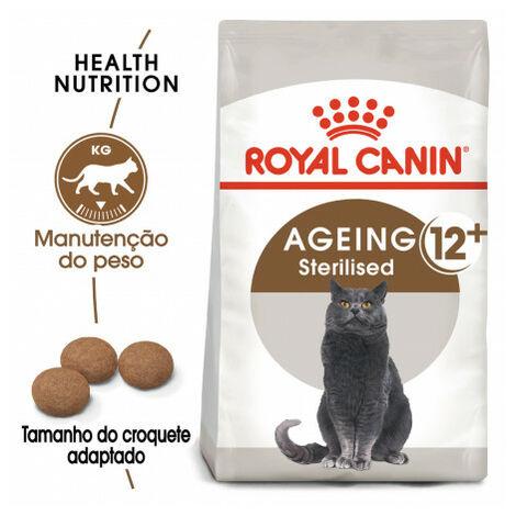 Pienso ROYAL CANIN AGEING STERILISED 12+ para gatos esterilizados (más 12 años)