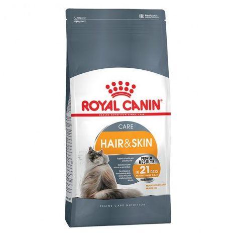 Pienso ROYAL CANIN HAIR AND SKIN CARE para gatos (cuidado pelo y piel)