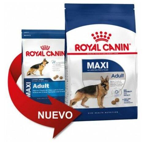 Pienso ROYAL CANIN MAXI ADULT perros de tamaño grande (Desde 15 meses a 5 años)