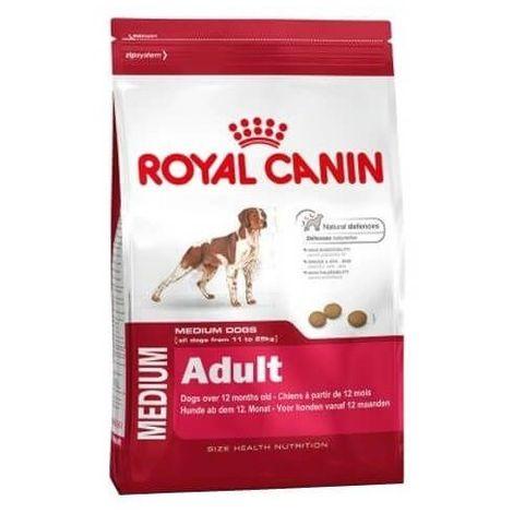 Pienso ROYAL CANIN MEDIUM ADULT para perros de raza mediana (De 1 a 7 años)
