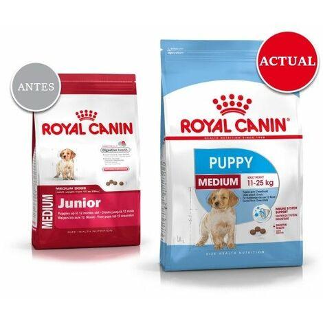 Pienso ROYAL CANIN MEDIUM JUNIOR para perros de raza mediana (Hasta 1 año)