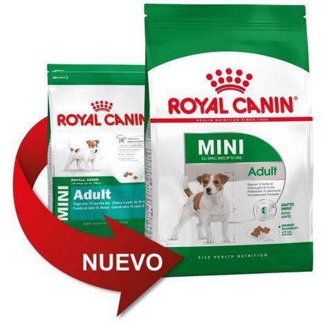 Pienso ROYAL CANIN MINI ADULT perros de raza pequeña (A partir de 10 meses)