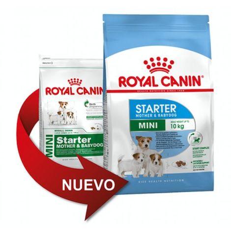 Pienso ROYAL CANIN MINI STARTER para madres y cachorros de raza pequeña