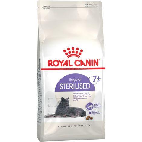 Pienso ROYAL CANIN STERILISED 7+ para gatos esterilizados (más 7 años)