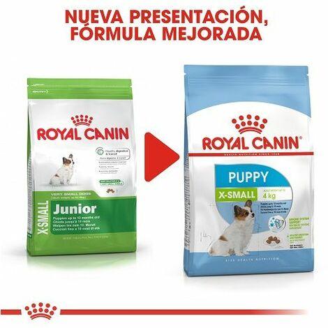 Pienso ROYAL CANIN X-SMALL JUNIOR cachorros de raza muy pequeña (Hasta 10 meses)