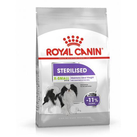 Pienso ROYAL CANIN X-SMALL STERILISED perros de raza muy pequeña esterilizados - 1,5 Kg