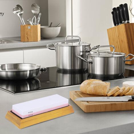Pierre A Aiguiser Grain 1000/3000, Recto-Verso, Pour Couteau De Cuisine