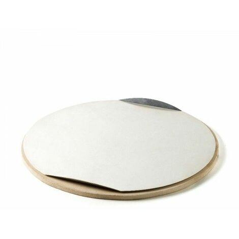 Pierre à pizza ronde pour barbecue Weber 36,5 cm