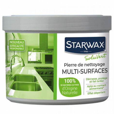 Pierre blanche de nettoyage 100% d'origine naturelle STARWAX