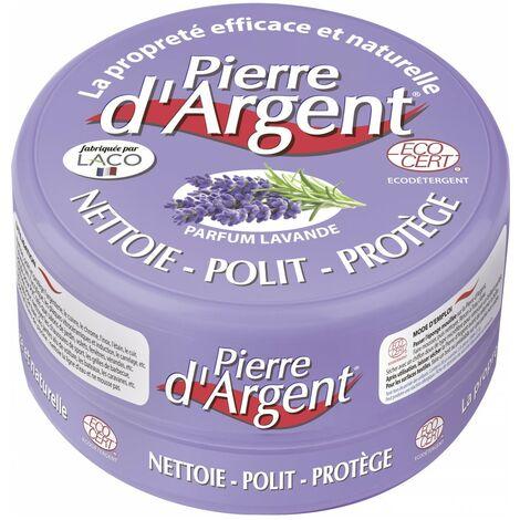 PIERRE D'ARGENT® 300GR PARFUM LAVANDE + EPONGE - Astuceo
