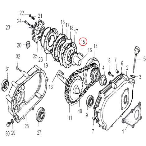 Pieza de recambio de la chaveta del motor de gasolina (5x5x40) para cigüeñales