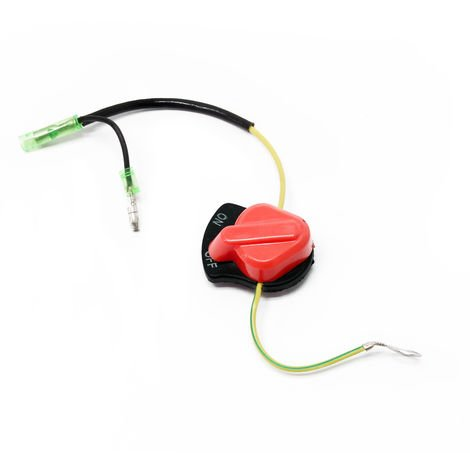 Pieza de recambio interruptor de encendido/apagado del motor de gasolina para 6,5 - 18 CV