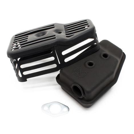 Pieza de recambio: motor de gasolina LIFAN 152 silenciador completo 2,4 CV