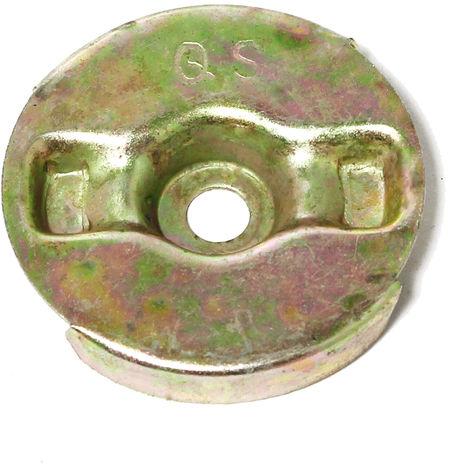 Pieza de recambio motor de gasolina Placa de retención arrancador de cable para 6,5 PS