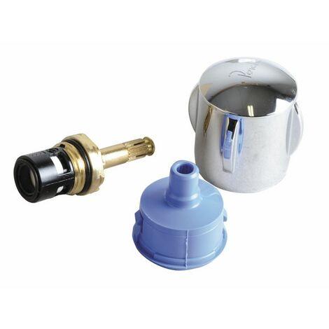 """Pieza de recambio original - Empuñadura EF abs con cabezal 1/2"""" cerámica D 99H070AA - IDEAL STANDARD : D99H070AA"""