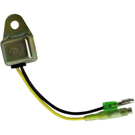 Pieza de repuesto diodo de interruptor de bloqueo de aceite de motor de gasolina para 6,5 - 18 PS