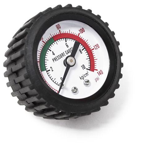 Pieza de repuesto manómetro de aire comprimido de purga de frenos 0-10bar