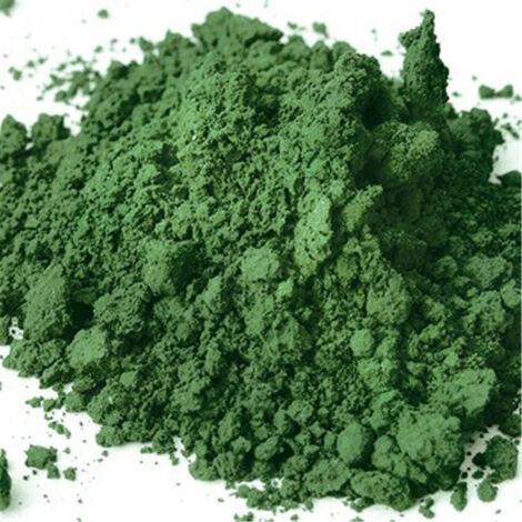 Pigment minéral Houillère de Cruéjouls VERT DE CHROME CLAIR POT 385 ML (350 G) - pot(s) de 385g - vert