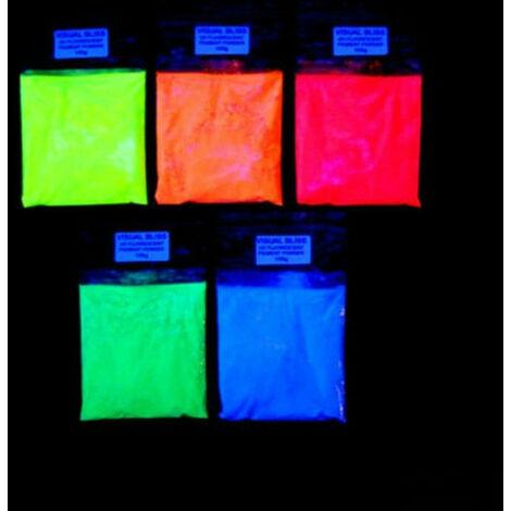 Pigmento Colore Fluorescente da 20 o 50 gr per Resina Epossidica fai da te legno
