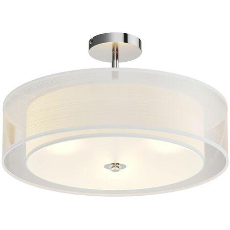 Pikka - lampada LED da soffitto diffusore bianco