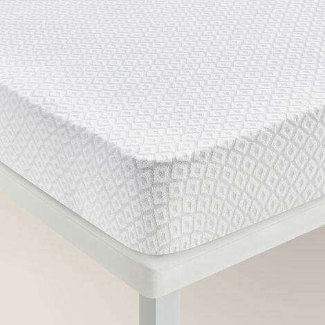 Pikolin Home - Funda de colchón algodón de rizo antialérgica transpirable