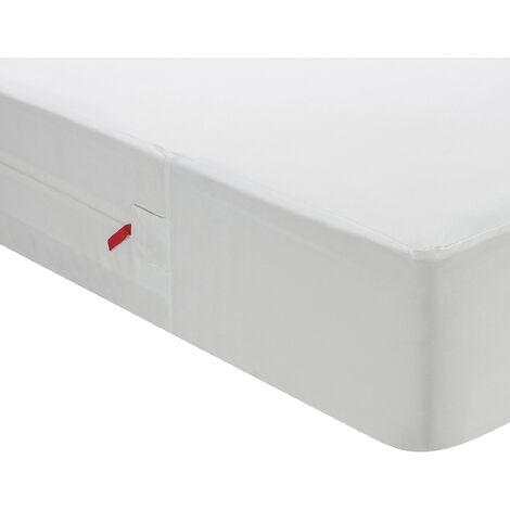 Pikolin Home - Funda de colchón sanitaria antichinches, impermeable y transpirable