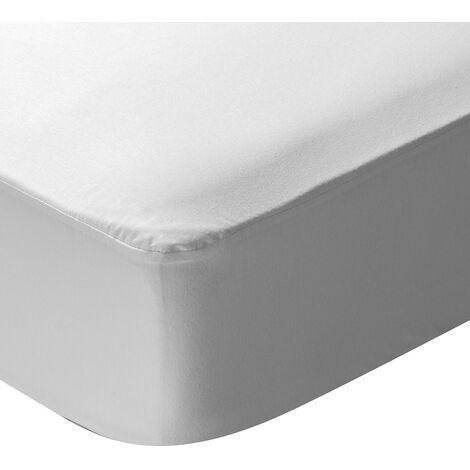 Pikolin Home - Protector de colchón 100% punto algodón, impermeable