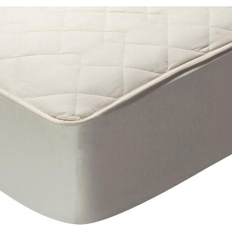 Pikolin Home - Protector de colchón acolchado 100% algodón transpirable