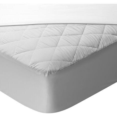 Pikolin Home - Protector de colchón acolchado de Aloe Vera impermeable