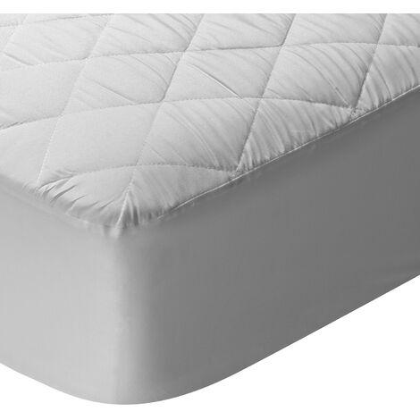 Pikolin Home - Protector de colchón acolchado transpirable relleno de fibra