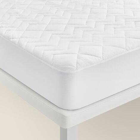 Pikolin Home - Protector de colchón/Cubrecolchón acolchado en Lyocell