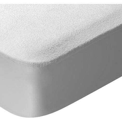 Pikolin Home - Protector de colchón rizo algodón, impermeable