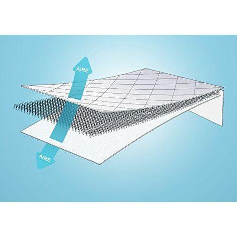 Pikolin Home Protège-matelas respirant Thermorégulateur 80 x 190/200 cm-Lit 1 place
