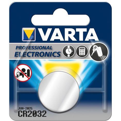 Pila botón VARTA Electronics CR 2032