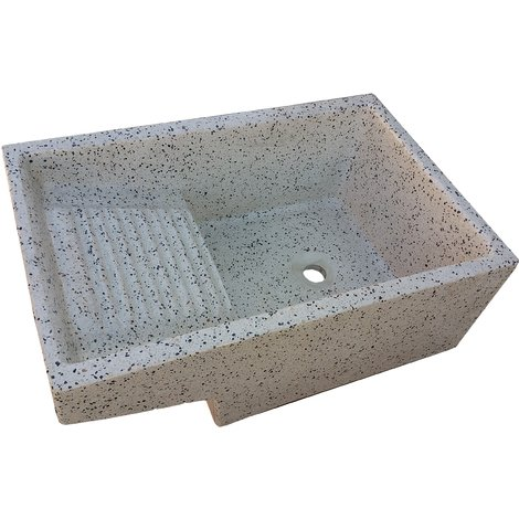 Pila con Lavadero de piedra para exterior o interior dálmata