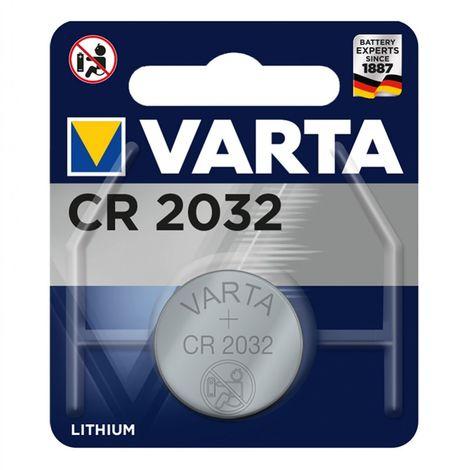 Pila de botón de litio Varta CR2032 3,0 V (20,0 x 3,2) en blíster