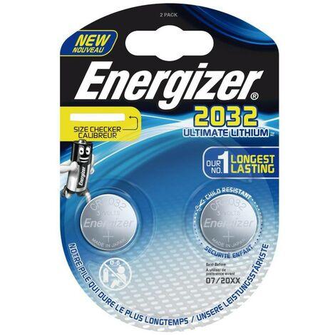 Pila Energizer CR2032 Lithium Performance, Blister de 2 Ud